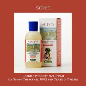 Seres - Brand e Prodotti sviluppati da Gianni Cresci per Derbe di Firenze