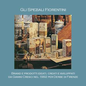 Speziali Fiorentini - Derbe di Firenze - Crema, bagnoschiuma, profumo.