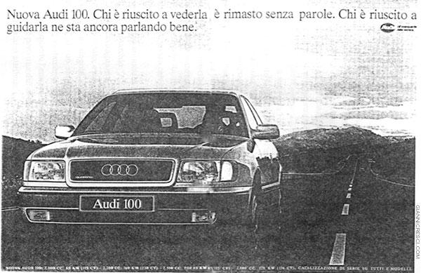 Auto AUDI, analisi semiotica della comunicazione pubblicitaria